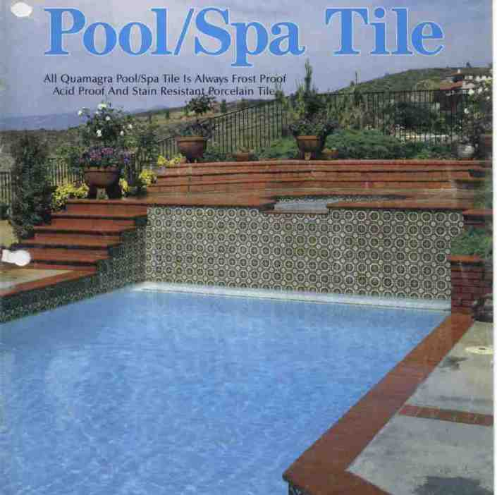 Little Tile Inc - online source to Current and Vintage pool tile ...