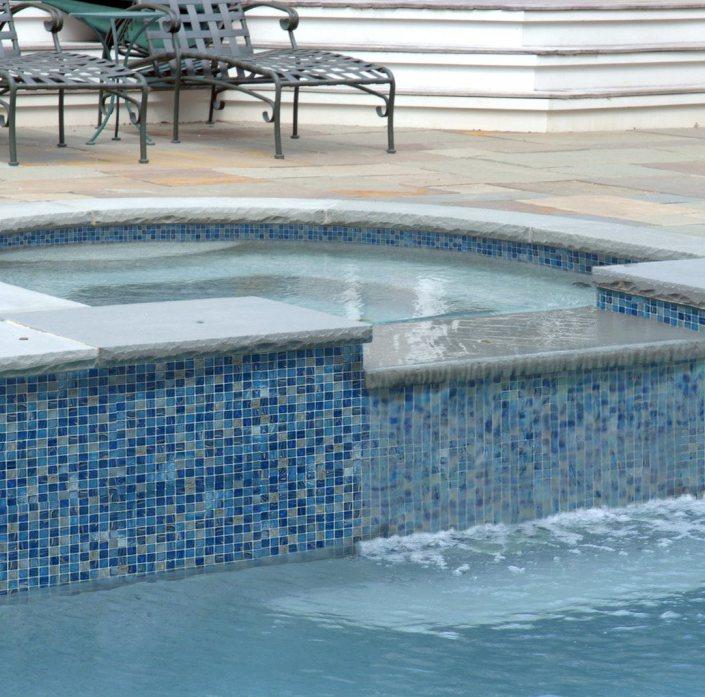 Glass Tile Pool Tile Design Ideas